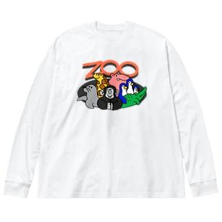 ZOOシャツ Big silhouette long sleeve T-shirts