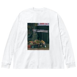 o  k  mの🇻🇳 Big Silhouette Long Sleeve T-Shirt