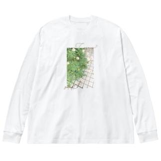 Cosmos? Big silhouette long sleeve T-shirts