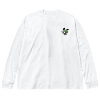 オリジナルグッズ「テル」 Big silhouette long sleeve T-shirts