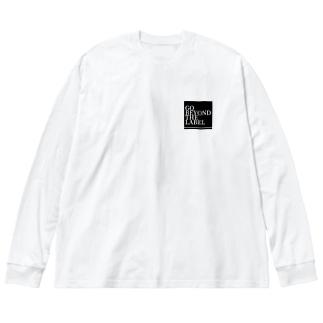 レッテルなんて超えていけグッズ Big silhouette long sleeve T-shirts
