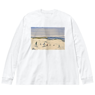 ウィンタースポーツ Big silhouette long sleeve T-shirts