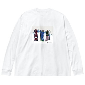 チーム・ニセコ Big silhouette long sleeve T-shirts