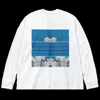 ミラー ビッグシルエットロングスリーブTシャツ