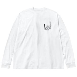 我欲甲你作伙幾系郎 包丁 Big Silhouette Long Sleeve T-Shirt
