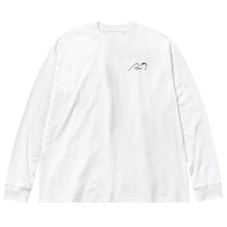 colorfulビックシルエットT Big silhouette long sleeve T-shirts