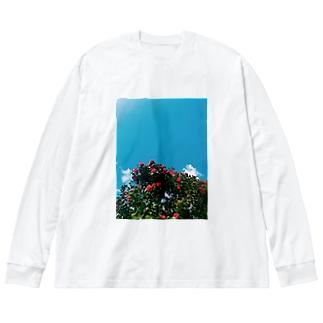 2021年4月の秋田 Big silhouette long sleeve T-shirts