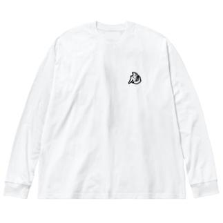 寅さんじゃないよ Big Silhouette Long Sleeve T-Shirt