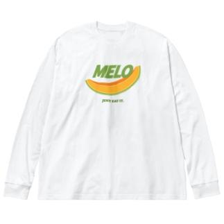 MELO [パロディ] Big silhouette long sleeve T-shirts