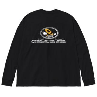 e-manビックシルエットT Big silhouette long sleeve T-shirts