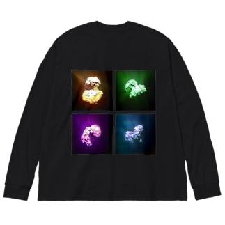 Rosetta [ 4C] Big silhouette long sleeve T-shirts