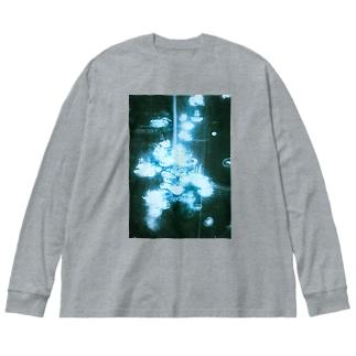 海月 Big silhouette long sleeve T-shirts