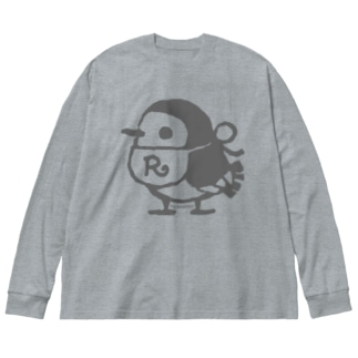 長そでビッグT リルフィ Big silhouette long sleeve T-shirts