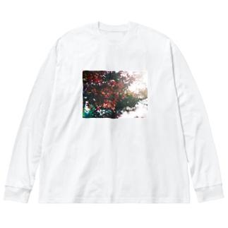 名前のない秋 Big silhouette long sleeve T-shirts