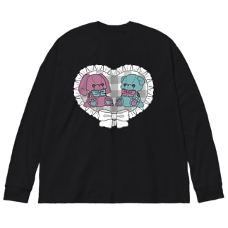 me & me Big silhouette long sleeve T-shirts