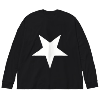 Inverted Star Big silhouette long sleeve T-shirts