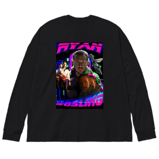 ライアンゴズリング ラップTシャツ Big silhouette long sleeve T-shirts