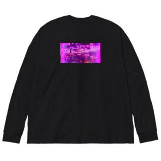 NY Big silhouette long sleeve T-shirts
