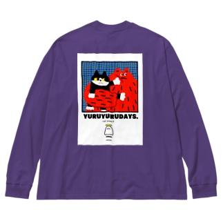 cat punch punch Big Long Sleeve T-shirt