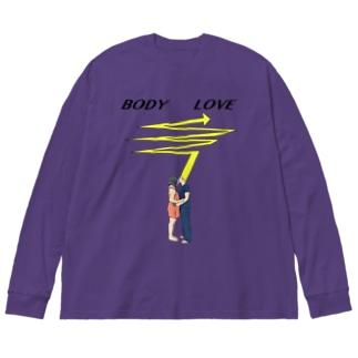 bodyandlove Big silhouette long sleeve T-shirts