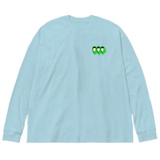 枝豆 Big silhouette long sleeve T-shirts