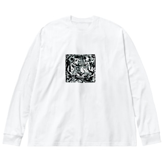 Ritta.オリジナル虎■ Big silhouette long sleeve T-shirts