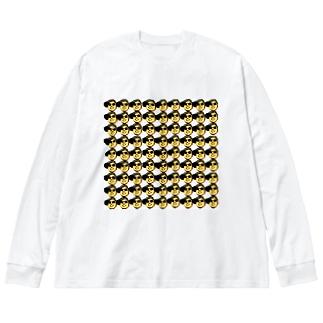「キモ!顔爆」シリーズ Big Long Sleeve T-shirt