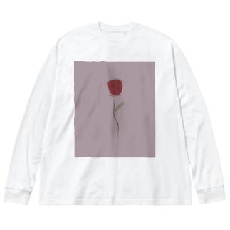 BARA Big silhouette long sleeve T-shirts