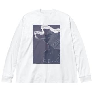 Take a break... Big silhouette long sleeve T-shirts