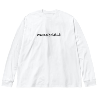 wonderlast Big silhouette long sleeve T-shirts