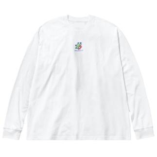 アカシックレコード Big silhouette long sleeve T-shirts