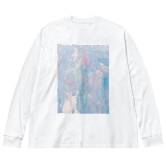 ゆめうつつ Big Silhouette Long Sleeve T-Shirt