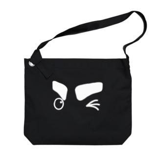 「おでかけ!」 #シャチくん Big shoulder bags