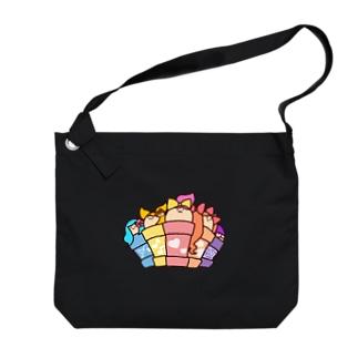DOKAN組(全員集合) Big shoulder bags