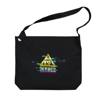 喰印壊 Big shoulder bags