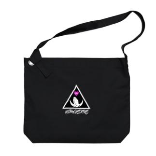8DIMENSIONS Logo(濃い色向きロゴ) Big shoulder bags
