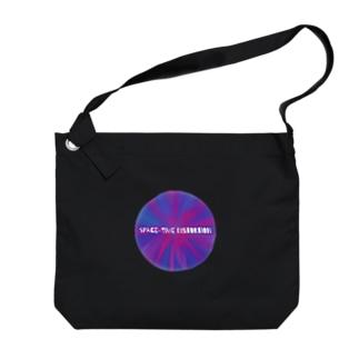 時空の歪み Big shoulder bags
