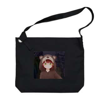 Serial experiments lain -クマさんパジャマ- Big shoulder bags