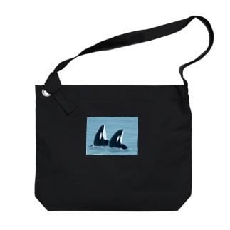 ダブルスパイホップシャチ Big shoulder bags