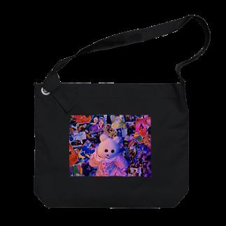 RAITYO TSUMEのGOD KMAKICI Big shoulder bags