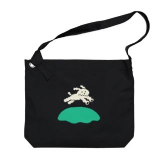 ドッグラン Big shoulder bags