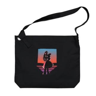 一番星 Big shoulder bags