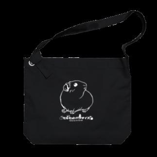 Lichtmuhleの2020年モルモットパラダイス グッズ 黒系 Big shoulder bags