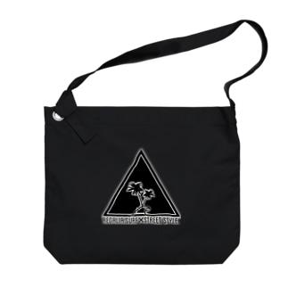 REGALIA triangle LOGO Big shoulder bags