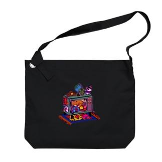 TVベッドルーム Big shoulder bags