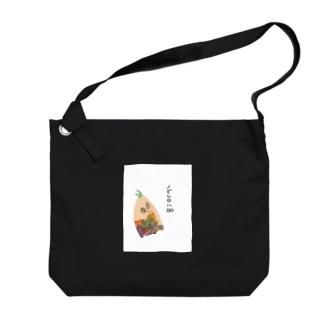 ノビシロくん Big shoulder bags