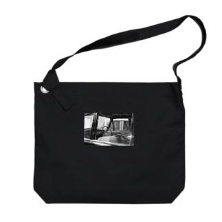 くるま Big Shoulder Bag