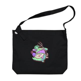 マカロニグラタンのRABBIT_COOK Big shoulder bags
