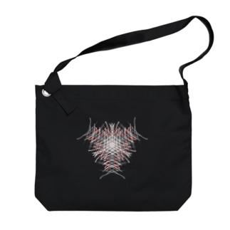 Graphic#34 Big shoulder bags