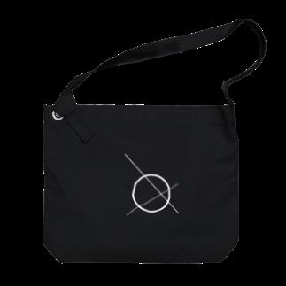 KK_310musicの迷星 Big shoulder bags